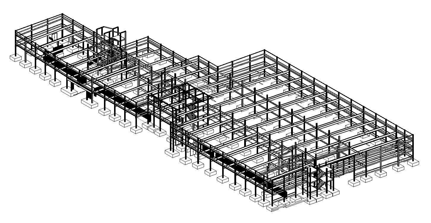 Cambridge North Car Park: structuurisometrie BIM