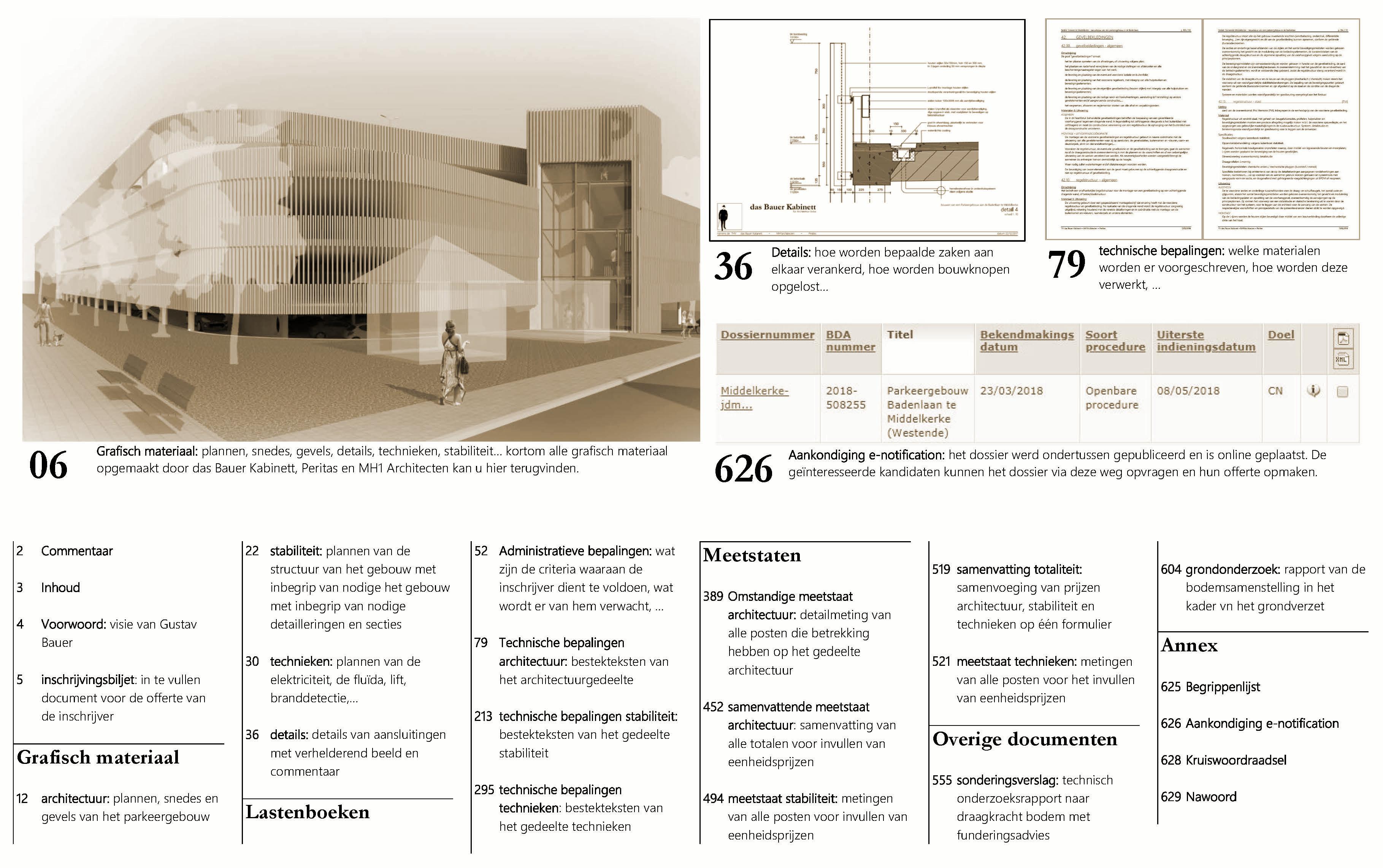 inhoud dossier parkeergebouw Middelkerke